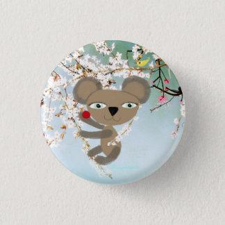 Koala Tender little cute Bear Cherry Bird Button