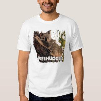 Koala treehugger t shirts
