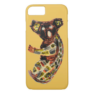 Koala Wild Animal Aboriginal Art iPhone 7 Case