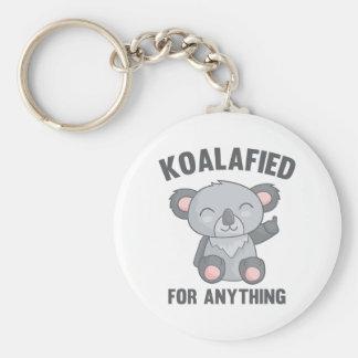 Koalafied For Anything Key Ring