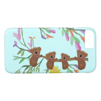 Koalas Habitat iPhone case