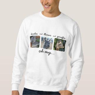 koalas & llamas & giraffes Oh My! Sweatshirt