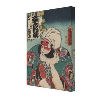 Kobayashi - Vintage Japanese Art - pre-1900s Gallery Wrapped Canvas
