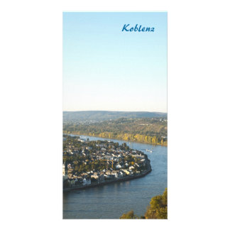 Koblenz Customized Photo Card