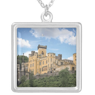 Koblenz, Germany, Stolzenfels Castle, Schloss Silver Plated Necklace