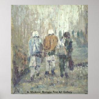 Koche-de-Afghanistan Poster