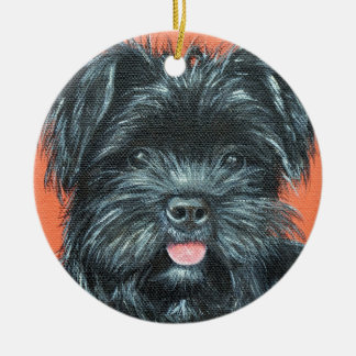 Koda - Terrier Painting Ceramic Ornament