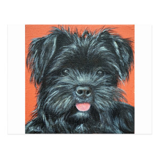 Koda - Terrier Painting Postcard
