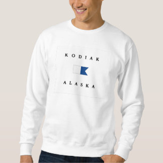 Kodiak Alaska Alpha Dive Flag Sweatshirt