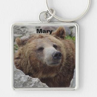Kodiak Bear Key Ring