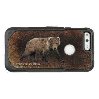 Kodiak Bear On Caribou Fur OtterBox Commuter Google Pixel Case