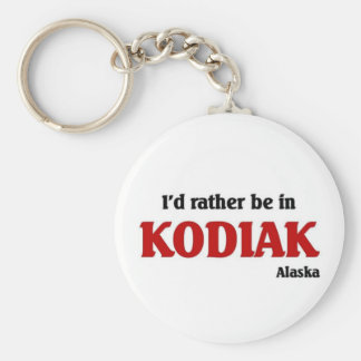 Kodiak Key Ring