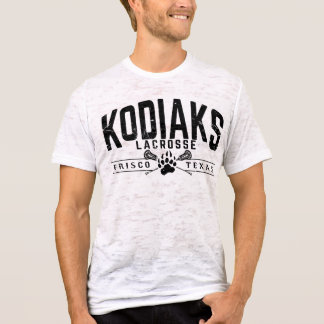 Kodiak Lacrosse - Men's Burnout shirt