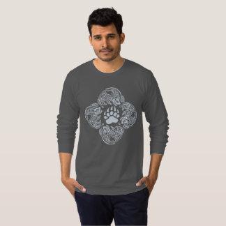 Kodiak Tribal - Men's American Apparel Long Sleeve T-Shirt