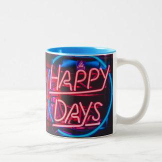 Koffiemok for everyone Two-Tone coffee mug