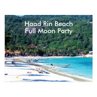 Koh Phangan Island Thailand Postcard