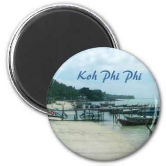 Koh Phi Phi 6 Cm Round Magnet