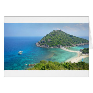 Koh Tao Thailand Card