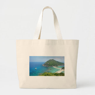 Koh Tao Thailand Large Tote Bag