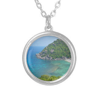 Koh Tao Thailand Silver Plated Necklace