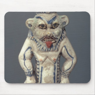Kohl Pot depicting the Egyptian household god Bes Mouse Pads
