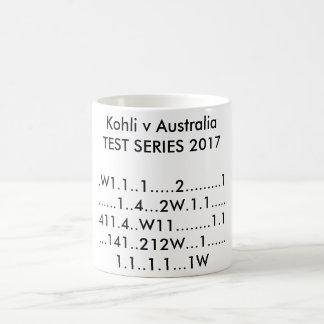 Kohli v Australia TEST SERIES 2017 Coffee Mug