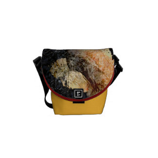 Koi abstract messenger bag
