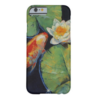 Koi and White Lily Barely There iPhone 6 Case