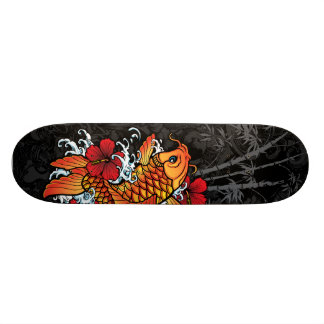 Koi Bamboo Skate Deck