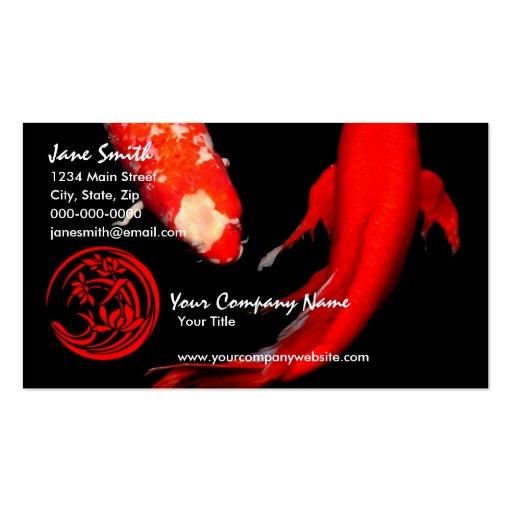 Koi Business Cards