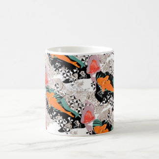 Koi carp fish coffee mug