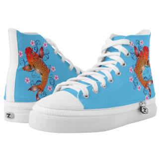 Koi Carp Printed Shoes