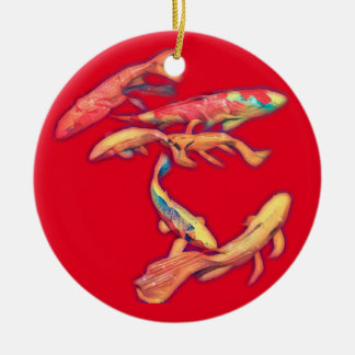 Koi Ceramic Ornament
