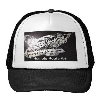 Koi Design Humble Roots Art Hawaii Cap