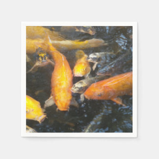 Koi Disposable Napkins
