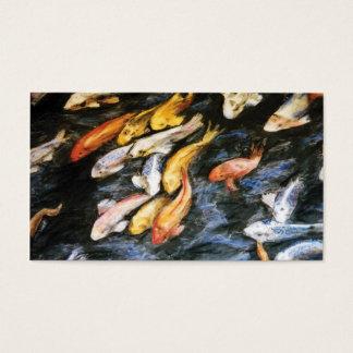 Koi Fish Business Cards