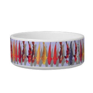 Koi fish colorful cat dish cat water bowl