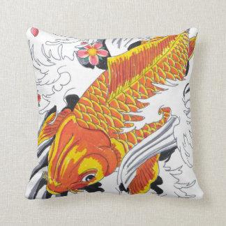Koi fish cushion