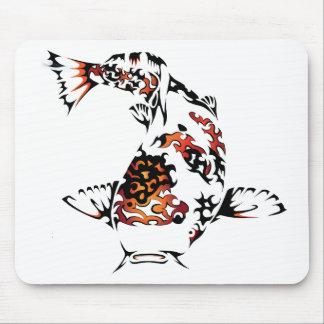 Koi Fish Mouse Pad