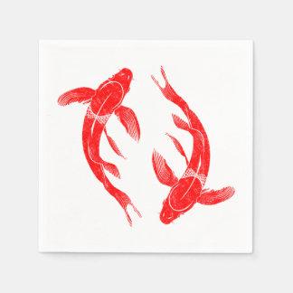 Koi Fish Paper Napkins