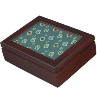 Koi Fish Pattern Keepsake Box
