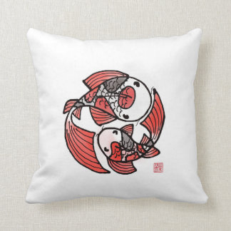 Koi Fish Pillow