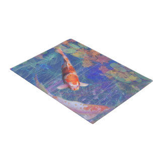 Koi Fish Pond Doormat