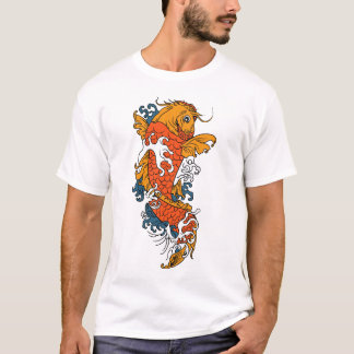 Koi Fish Tattoo T-Shirt