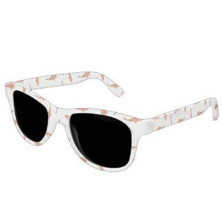 Koi Fishes Motif Pattern Sunglasses