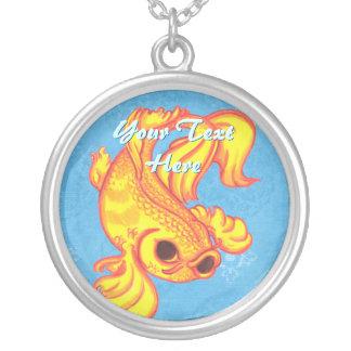 Koi Goldfish Necklace