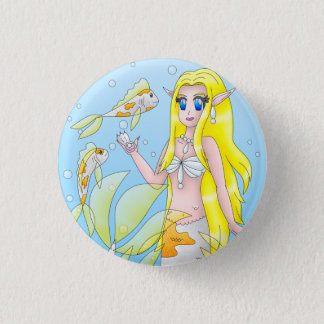 Koi Mermaid Button 1
