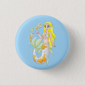 Koi Mermaid Button 2