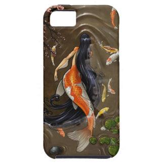 koi mermaid iPhone 5 covers