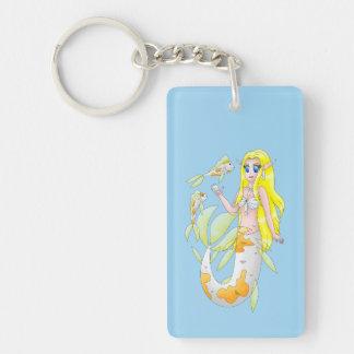 Koi Mermaid keychain